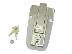 Stainless steel handle lock 2203 with key (H = 37....
